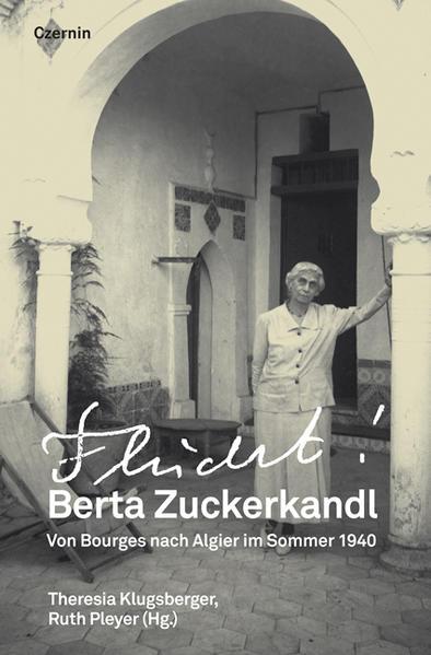Berta Zuckerkandl – Flucht! - Coverbild