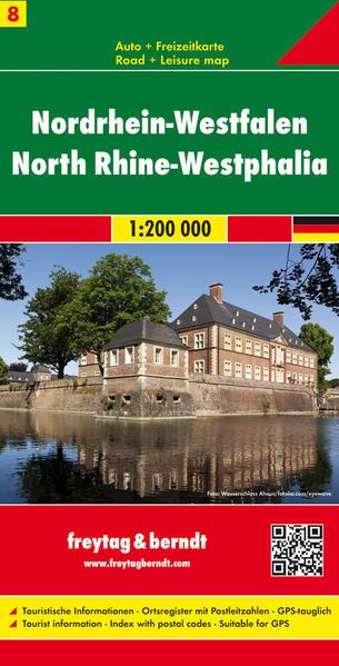 Nordrhein-Westfalen, Autokarte 1:200.000 - Coverbild