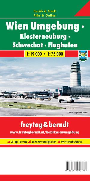 Wien Umgebung - Klosterneuburg - Schwechat - Flughafen - Coverbild