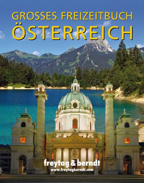 Großes Freizeitbuch Österreich - Coverbild