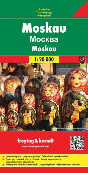 Moskau - Coverbild