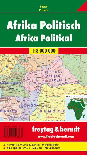 Afrika physisch-politisch - Coverbild