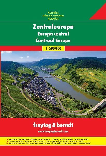 Zentraleuropa Autoatlas - Coverbild