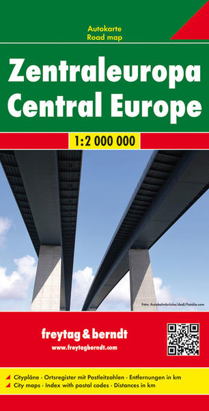 Zentraleuropa, Autokarte 1:2.000.000 Epub Herunterladen