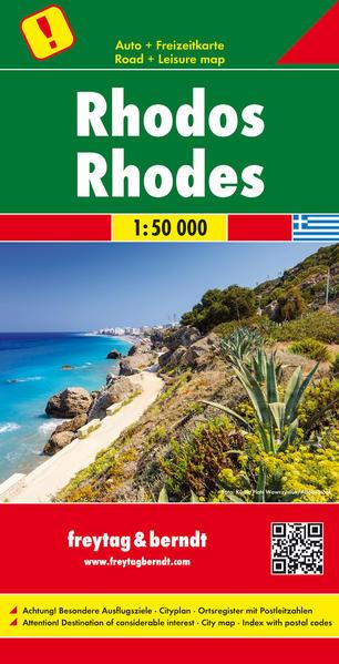 Rhodos, Autokarte 1:50.000 - Coverbild