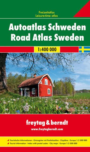 Schweden, Autoatlas 1:400.000 - Coverbild