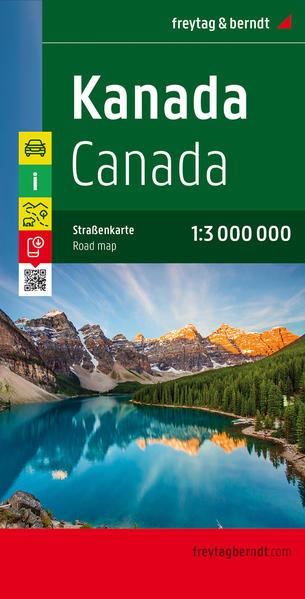 Kanada, Autokarte 1:3.000.000 - Coverbild