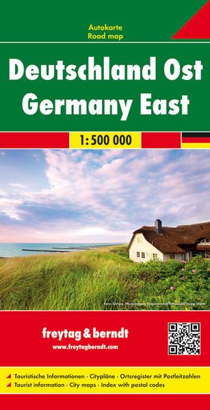 Deutschland Ost, Autokarte 1:500.000 Jetzt Epub Herunterladen