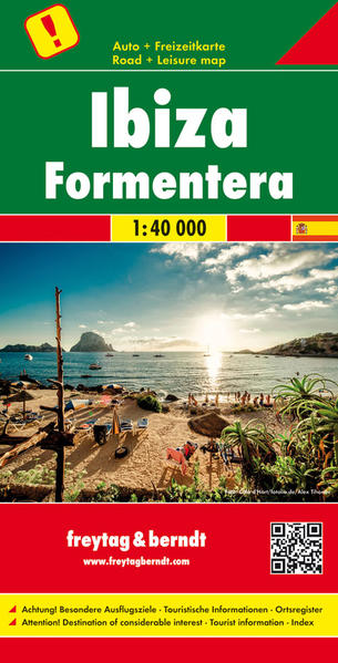 Ibiza • Formentera, Autokarte 1:40.000 - Coverbild
