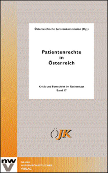 Patientenrechte in Österreich - Coverbild