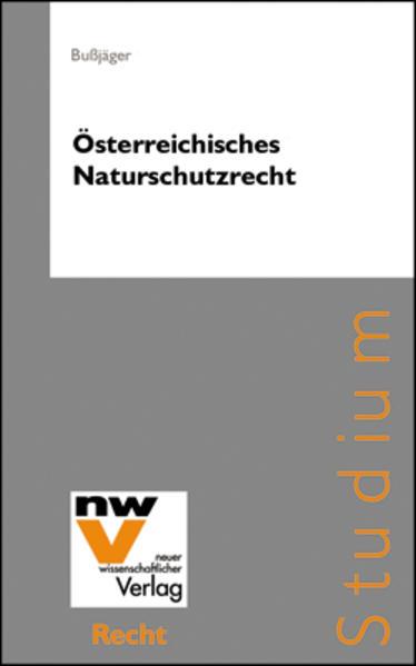 Österreichisches Naturschutzrecht - Coverbild