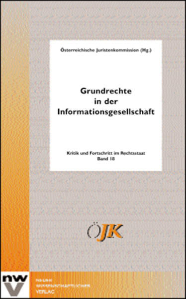 Grundrechte in der Informationsgesellschaft - Coverbild