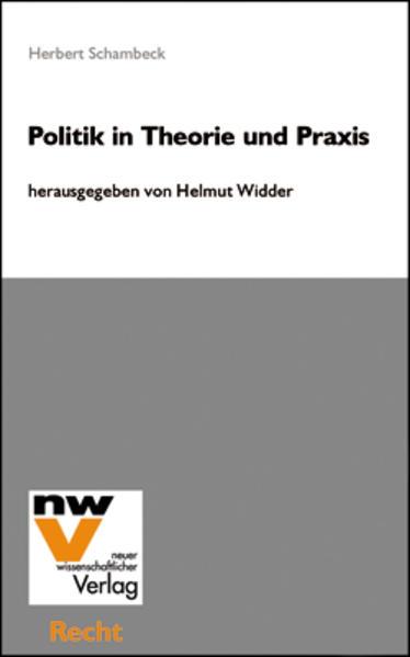 Politik in Theorie und Praxis - Coverbild