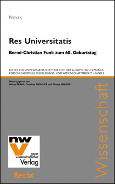 Res Universitatis - Coverbild