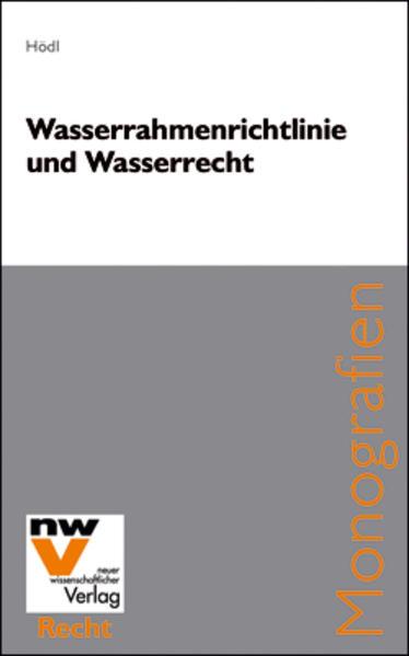 Wasserrahmenrichtlinie und Wasserrecht - Coverbild