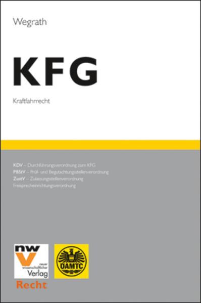 KFG Das österreichische Kraftfahrrecht - Coverbild