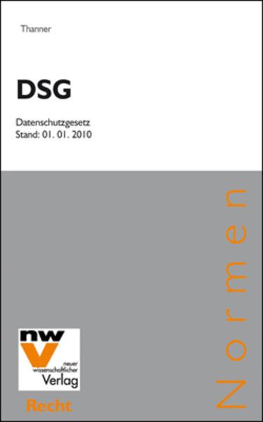 DSG Datenschutzgesetz - Coverbild
