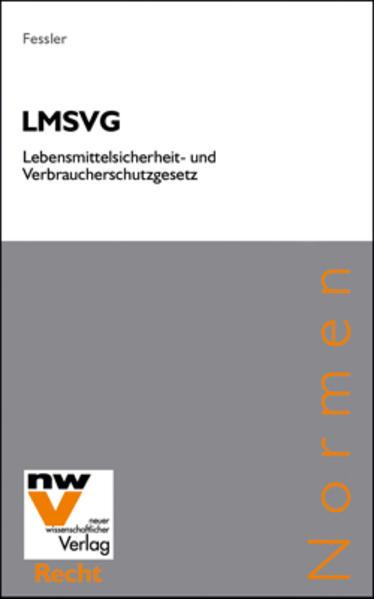 LMSVG Lebensmittelsicherheits- und Verbraucherschutzgesetz - Coverbild