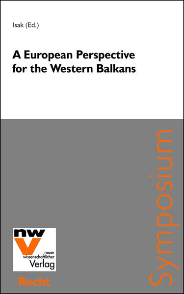 A European Perspective for the Western Balkans - Coverbild