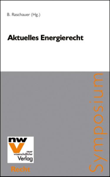Aktuelles Energierecht - Coverbild