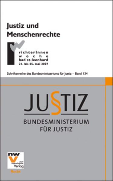 Justiz und Menschenrechte - Coverbild