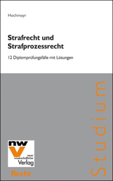 Strafrecht und Strafprozessrecht - Coverbild