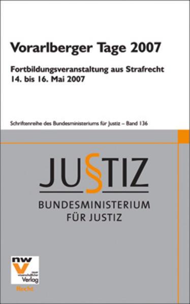 Vorarlberger Tage 2007 - Coverbild