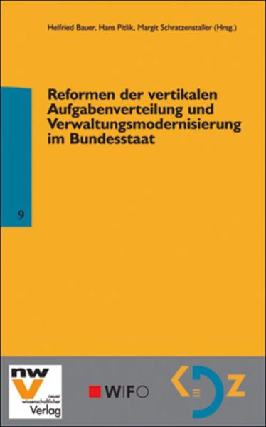 Reformen der vertikalen Aufgabenverteilung und Verwaltungsmodernisierung im Bundesstaat - Coverbild