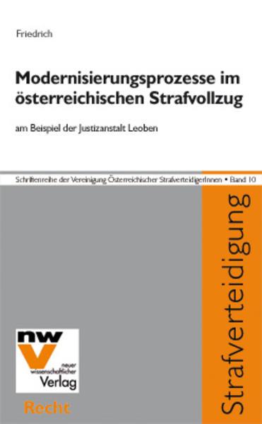 Modernisierungsprozesse im österreichischen Strafvollzug - Coverbild