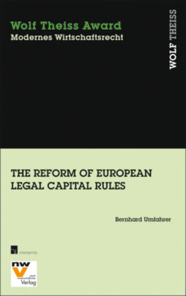 The Reform of European Legal Capital Rules - Coverbild