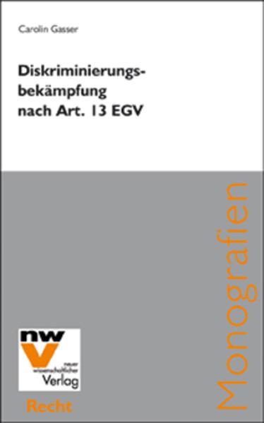 Diskriminierungsbekämpfung nach Art. 13 EGV - Coverbild
