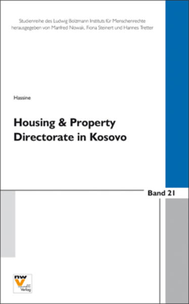 Housing and Property Directorate/Claims Commission in Kosovo  (HPD/CC) - Coverbild