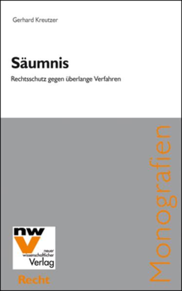 Säumnis - Coverbild