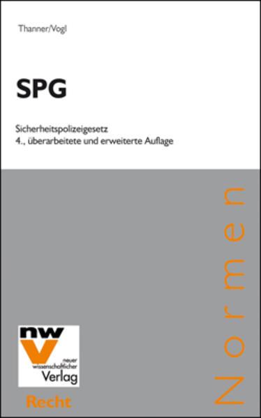 SPG Sicherheitspolizeigesetz - Coverbild