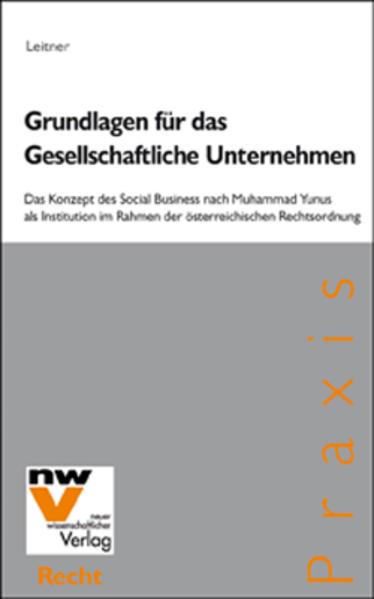 Grundlagen für das Gesellschaftliche Unternehmen - Coverbild