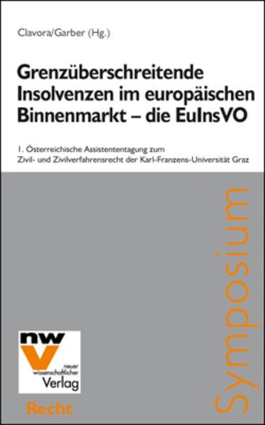 Grenzüberschreitende Insolvenzen im europäischen Binnenmarkt – die EuInsVO - Coverbild