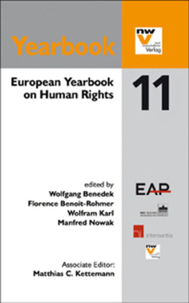 European Yearbook on Human Rights 2011 - Coverbild