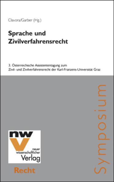 Sprache und Zivilverfahrensrecht - Coverbild