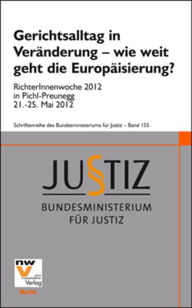 Gerichtsalltag in Veränderung – wie weit geht die Europäisierung? - Coverbild