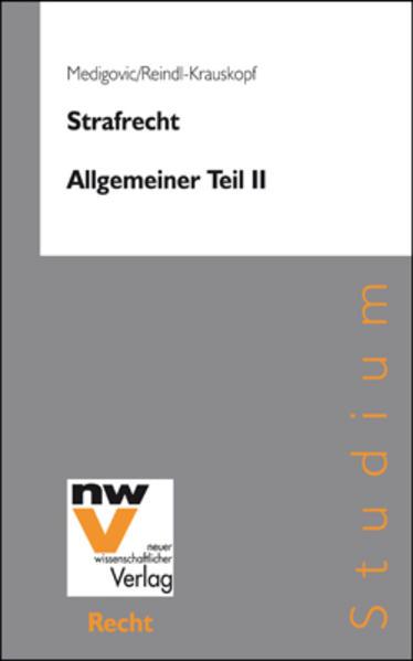 Strafrecht. Allgemeiner Teil II - Coverbild