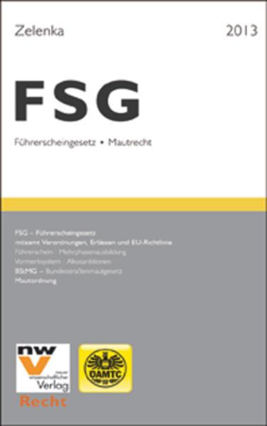 FSG - Führerscheingesetz und Mautrecht - Coverbild
