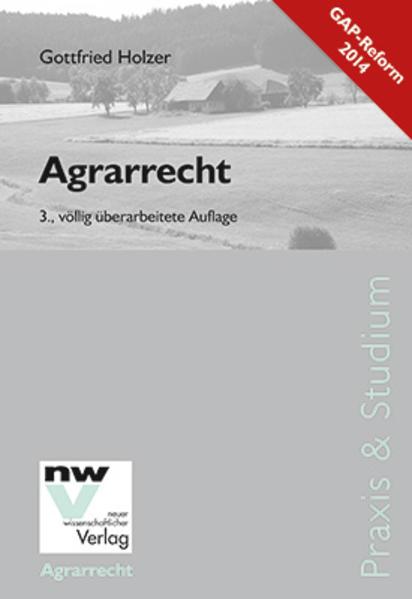 Agrarrecht - Coverbild