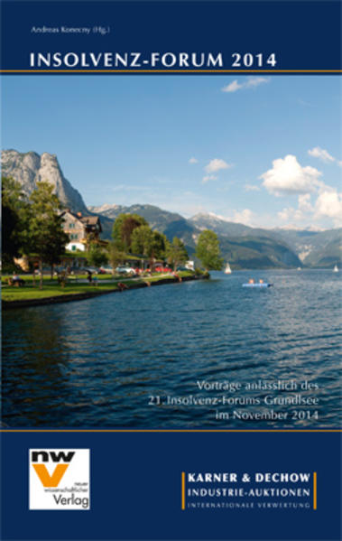 Insolvenz-Forum 2014 - Coverbild