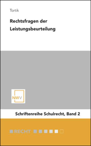 Rechtsfragen der Leistungsbeurteilung - Coverbild