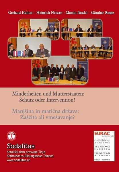 Minderheiten und Mutterstaaten: Schutz oder Intervention? - Coverbild
