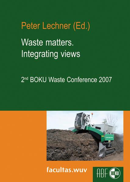 Waste matters. Integrating views - Coverbild