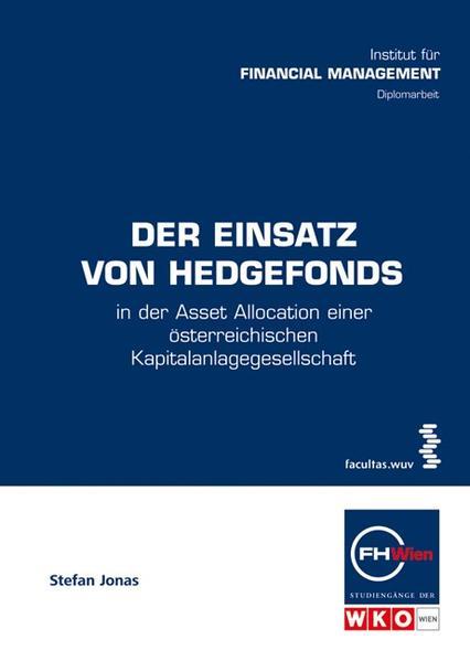 Der Einsatz von Hedgefonds - Coverbild