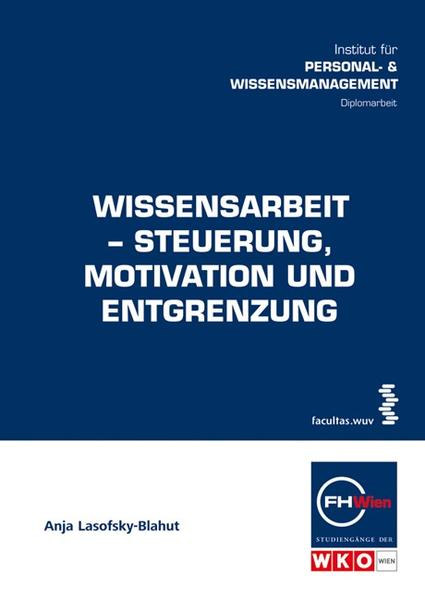 Wissensarbeit-Steuerung, Motivation und Entgrenzung - Coverbild