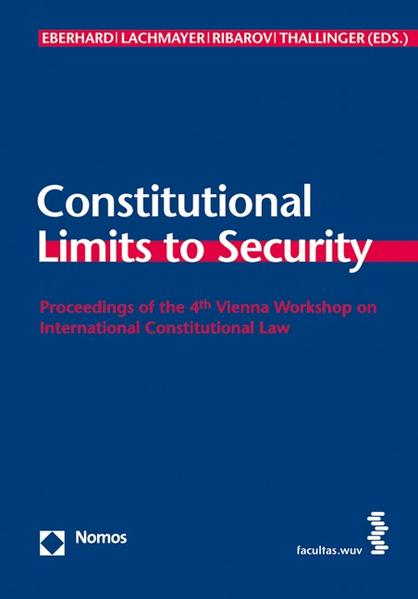 Constitutional Limits to Security - Coverbild