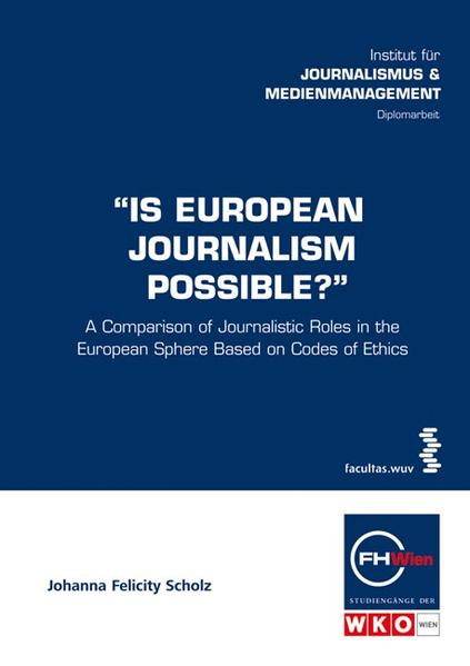 Is European Journalism Possible? - Coverbild
